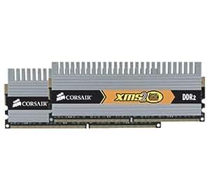 Corsair XMS2 DHX 4GB DDR2 SDRAM Memory Module. 4GB 2X2GB 800 MHZ DDR2 800/PC2 6400 DDR2 SDRAM 240PIN SYSMEM. 4GB (2 x 2GB) - 800MHz DDR2-800/PC2-6400 - Non-ECC - DDR2 SDRAM - 240-pin