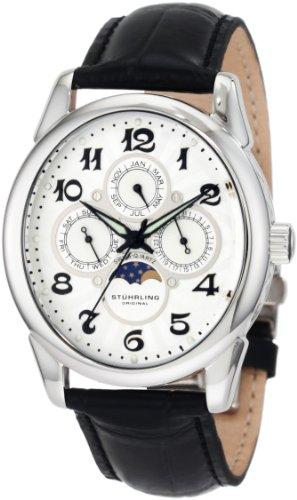 Stuhrling Original Men's 173L.33152 Special Reserve 'Aviator Calendar' Swiss Quartz Watch