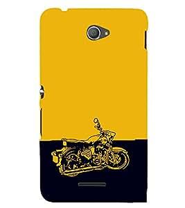 EPICCASE Trendy Bike Mobile Back Case Cover For Sony Xperia E4 (Designer Case)