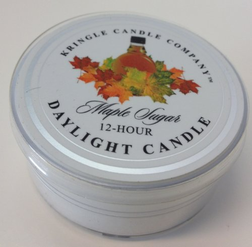 Kringle Candle 12 Hour Daylight Candle Maple Sugar