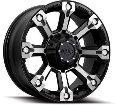 Gear Alloy Backcountry 18x9 Black Wheel / Rim 6x135 & 6x5.5 with a 18mm Offset and a 108.00 Hub Bore. Partnumber 719MB-8906818 (2004 F150 Rims 18 compare prices)