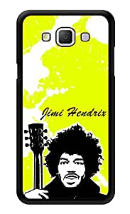 """Humor Gang Jimi Hendrix Art Neon Green Printed Designer Mobile Back Cover For """"Samsung Galaxy A5"""" (3D, Glossy, Premium Quality Snap On Case)"""