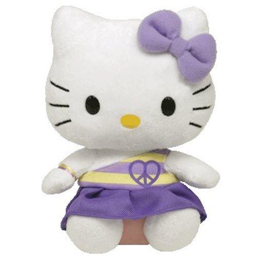 Ty Hello Kitty - Purple Peace