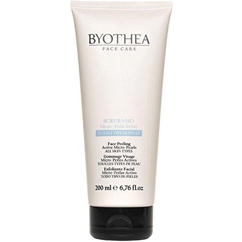 Face Peeling Active Micro Pearls Byothea ® Scrub Viso con Micro Perle Attive
