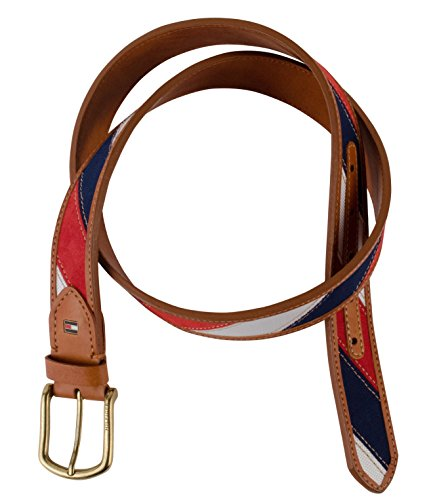 Tommy-Hilfiger-Mens-Mixed-Material-Casual-Belt