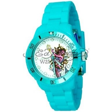 Ed Hardy Unisex Analogue Watch EDVPLB with VIP Light Blue Bracelet
