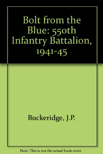 Bolt from the Blue: 550th Airborne Battalion 1941-45