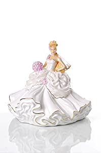 The English Ladies Co Gypsy Wedding Dreams Blonde Doll Figurine New And Boxed