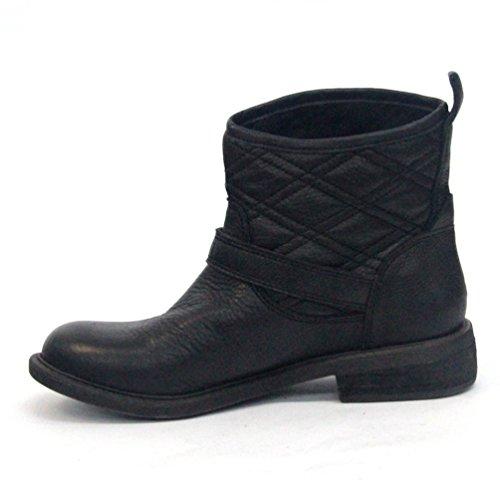 Lucky Brand-Stivaletti alla caviglia da uomo, taglia 9, Nuovo arrivo, Nero (nero), 36