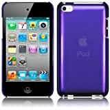 Apple iPod Touch 4 4G 4th Generation Purple Slim Crystal Back Case Cover From Keep Talking iPod Touch 4G Accessoriesby The Keep Talking Shop