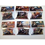 """Forever Collectibles Harry Potter Deathly Hallows Logo Bandz 6 Pack Set + Free """"Forever Carabina"""" To Carry Your Harry Potter Bandz!! In STOCK!!!"""