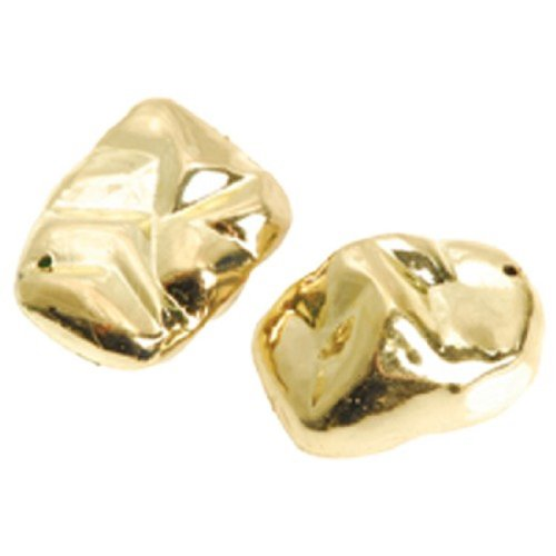Set Of 2 Fake Fools Gold Nuggets Practical Joke by US Toy