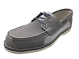 Mens Timberland Bluffton F/L Boat Shoe Grey (8 D(M) US)
