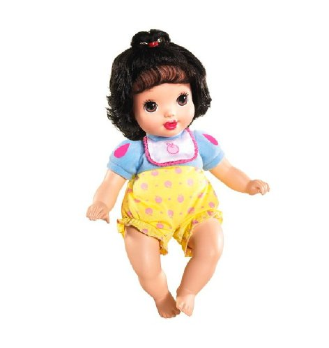 Amazon Com Disney Princess Baby Belle Doll Toys Games: Disney Princess Baby Snow White Doll