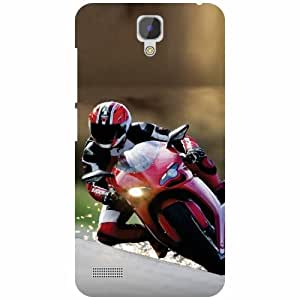 Redmi Note Prime Back cover - High Speed Designer Cases