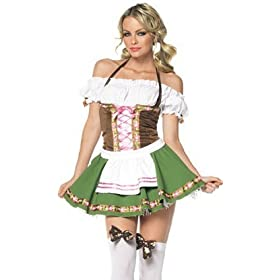 Oktoberfest Dress Sexy Halloween Costume Heidi