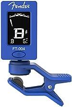 Fender 023-9977-003 FT-004 Clip en afinador electrónico afinador cromático para casi todos los instrumentos azules
