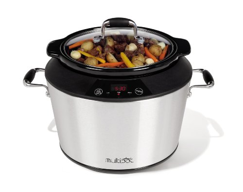 Toastess MSC-569 Multipot Stainless-Steel 5-Quart Digital Slow Cooker