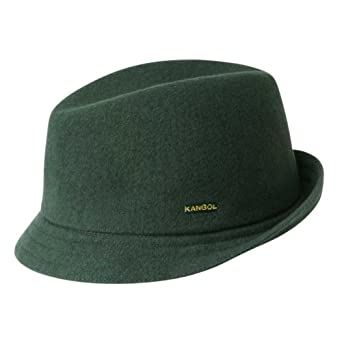 Kangol - Wool Duke - Couleur : Vert Fonce - Taille : L