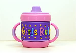 I.D. Gear Personalized Sippy Cup: Girls Rule