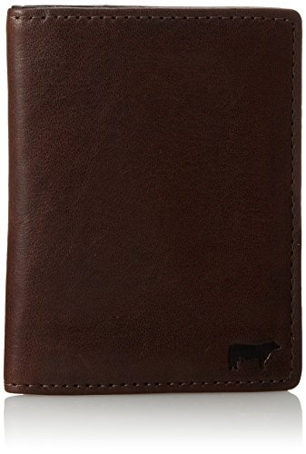 Will Leather Goods Men's Clyde Front Pocket, Brown, One Size