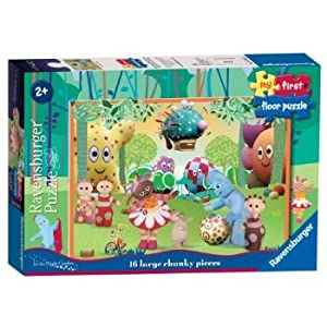 2 X Ravensburger In The Night Garden My First Floor Puzzle (16 Pieces)