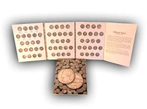Jefferson Nickels 1996-2002 HE Harris Coin Folder