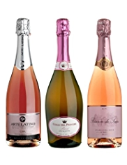 Sparkling Rosés Showcase - Mixed Case of 6