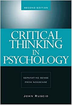 Critical Thinking for Psychology: A Student Guide: Amazon
