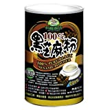 100% Pure Black Sesame Powder (Low Temp Roasted), No Sugar (500g/17.6oz/tin)