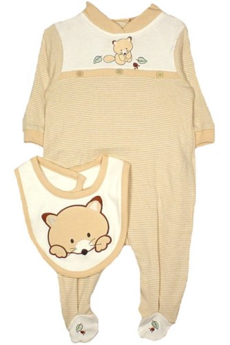Rumble Tumble Newborn Boys Fox Footed Coverall with Bib - Buy Rumble Tumble Newborn Boys Fox Footed Coverall with Bib - Purchase Rumble Tumble Newborn Boys Fox Footed Coverall with Bib (Rumble Tumble, Rumble Tumble Apparel, Rumble Tumble Toddler Boys Apparel, Apparel, Departments, Kids & Baby, Infants & Toddlers, Boys, Sleepwear & Robes, Sleepers)