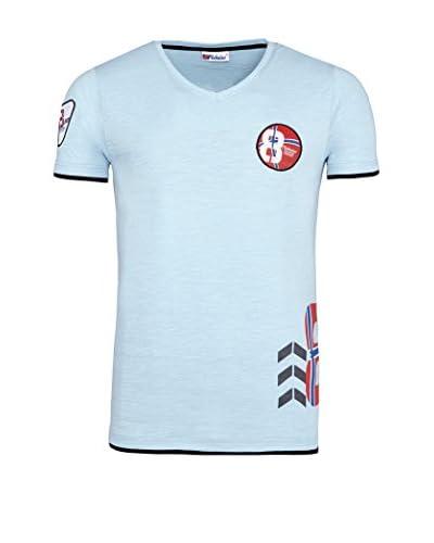 Nebulus T-Shirt Manica Corta Endrit [Azzurro]