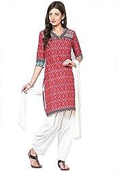 Soundarya Ethnicwear Cotton Patiala with Dupatta for Women (PAT6)