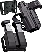 Blade Tech IDPA Competition Shooters Pack,For Glock 17/22/31 and HOLX0086IDPAPKO0080BLKRH