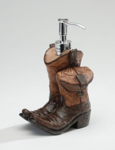 Cowboy Soap Dispenser