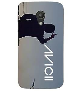 PRINTSHOPPII MUSIC Back Case Cover for Motorola Moto G2 X1068::Motorola Moto G (2nd Gen)