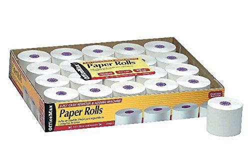 OfficeMax Add Machine/Register Paper Rolls 2-1/4