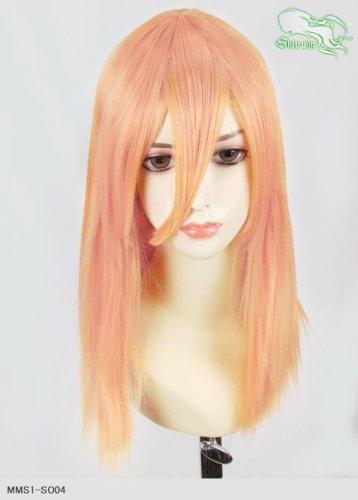 スキップウィッグ 魅せる シャープ 小顔に特化したコスプレアレンジウィッグ フェアリーミディ オレンジキャンディ