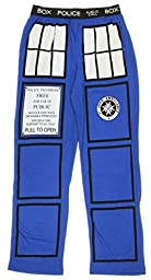 Doctor Who TARDIS Royal Blue Lounge Pants (Adult Medium)
