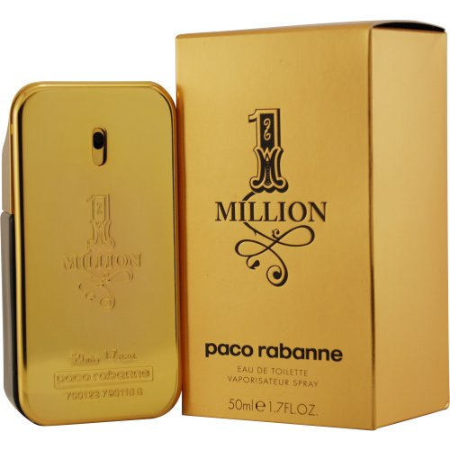 Paco Rabanne 1 Million Homme Eau De Toilette Spray 50ml