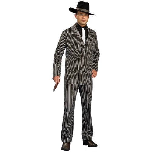 Gangster Suit Costume - X-Large - Chest Size 44-46