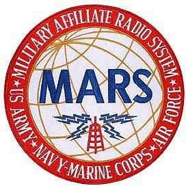"Jacket Patch 10"" MARS Military Affiliate Radio System US Army Navy"