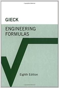 engineering formulas kurt gieck reiner gieck  amazoncom books