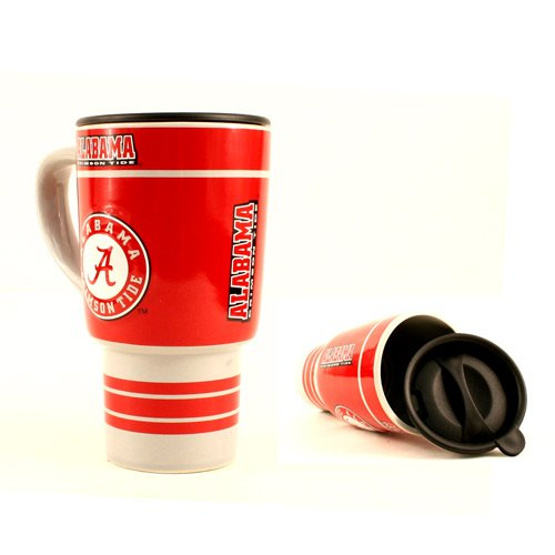 Ncaa Officially Licensed University Of Alabama Crimson Tide 15 Oz Sculpted Travel Mug