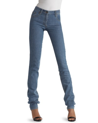 Jeanology Scrunch Slim Jean by Newport News