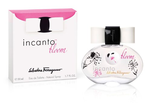 Salvatore Ferragamo Incanto Bloom Eau De Toilette Spray for Women, 3.4 Ounce