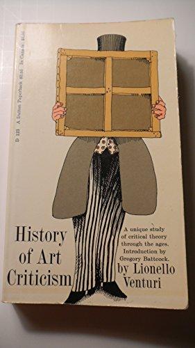 History of art criticism (New revised edition), Venturi, Lionello