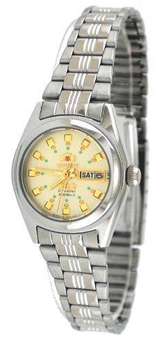 Orient #BNQ1X003C de la estrella de las mujeres reloj de pulsera automático con esfera color champán