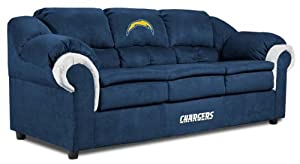 NFL San Diego Chargers First Team Microfiber Sofa by Imperial