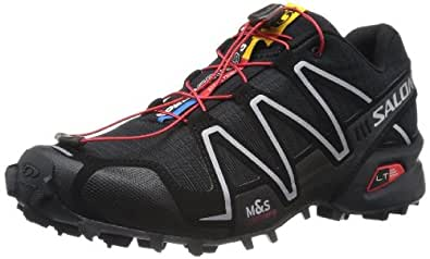 Salomon Speedcross 3, Men's Trail Running Shoes, Black (Black/Black/Silver Metallic-X), 7 UK (40 2/3 EU)